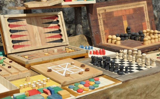 Samling af brætspil